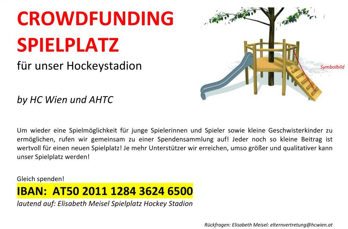 Spendensammlung Für Neuen Spielplatz Hc Wien