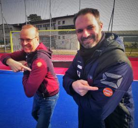 Roel Arnold und Gijs Hessels